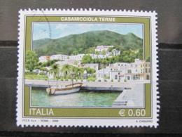*ITALIA* USATI 2008 - TURISTICA CASAMICCIOLA - SASSONE 3047 - LUSSO/FIOR DI STAMPA - 6. 1946-.. Repubblica