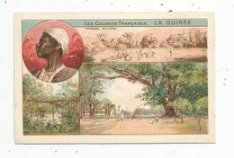 Chromo , Les Colonies Françaises , LA GUINEE , 2 Scans - Kaufmanns- Und Zigarettenbilder
