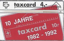 PTT: SVT-6 205L Mitgliederkarte Schweiz. Verein Der Taxcartensammler - Schweiz