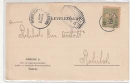 Farkas S. Vasvar Company Postcard Travelled 1904 To Rohitsch-Sauerbrunn B190220 - Hongrie