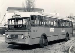 Bus, Omnibus, Kromhout- Werkspoor Verheul, RET 747, Public Transport, Real Photo - Auto's