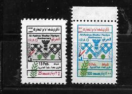 Irak:1997 Anni; Des Martyrs D'Al-Amériya N°1402/1403** - Iraq