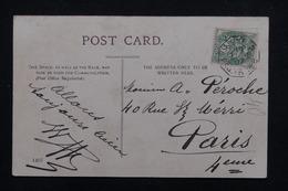 """FRANCE - Oblitération """" Ligne N Paq. FR.N°8 """" Sur Type Blanc Sur Carte Postale De Aden En 1905 - L 23233 - Marcophilie (Lettres)"""