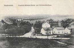 Old Postcard, Germany, Mechernich, Friedrich-wilhelm-strabe Und Kreiskrankenhaus. - Euskirchen