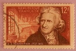 "FRANCE YT 1081 OBLITERE ""PARMENTIER"" ANNEE 1956 - France"
