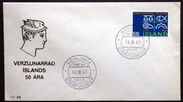Iceland 1967    Minr.412  FDC    ( Lot 2005) - FDC
