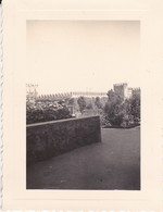 MINI PHOTO--MAROC---RABAT--1936--jardin Intérieur De La Kasba Des Ouadayas--cigones Sur Les Créneaux--voir 2 Scans - Afrique