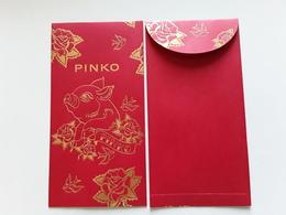 """PINKO~~~  Superbe  Enveloppe  """" Nouvel An Chinois 2019  """"  !! - Perfume Cards"""