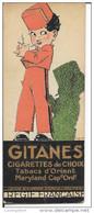 PUB TABAC - MARQUE PAGE - CIGARETTES GITANES ET SULTANES - REGIE FRANCAISE - Publicité