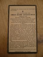 Sint Niklaas Waas Lokeren Heiende Emelie Bruggeman 1876 1938 - Devotieprenten