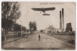 ESPANA CARTAGENA ALAMEDA DE SAN ANTON Carte Photo Avion écrite En Esperento - Murcia