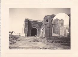 MINI PHOTO--MAROC---RABAT--1936-kasba Des Ouadayas Cimetière Musulman--voir 2 Scans - Africa