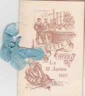 Fête à L'Opéra: Carnet De Bal Illustré Avec 24 Tickets Détachables Pour Valses, Scottisch, Mazurka, Lanciers,polka.quadr - Tamaño Pequeño : 1941-60