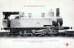 Locomotive-Tender à 4 Essieux Accouplés Pour La Société Anonyme Des Mines De Carmaux N°22 - Trains