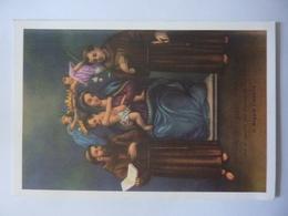 """Cartolina """"VERGINE SS. DELLA CONSOLAZIONE CHE SI VENERA NEL SANTUARIO DELL'EREMO DI REGGIO CALABRIA"""" - Vergine Maria E Madonne"""