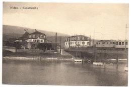 NIDAU Kanalbrücke Bahn Seeländische Lokalbahnen (SLB) - BE Berne