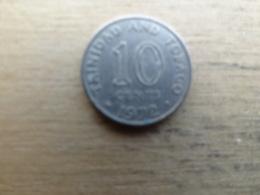 Trinite & Tobago  10  Cents  1972 Km 3 - Trinidad & Tobago
