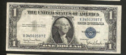 UNITED STATES Of AMERICA / U.S.A. - 1 DOLLAR ( 1935 - SILVER CERTIFICATE ) Series D / BLUE SEAL - Certificats D'Argent (1928-1957)