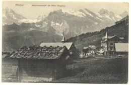 MÜRREN Alpenlandschaft Mit Hotel Jungfrau - BE Berne