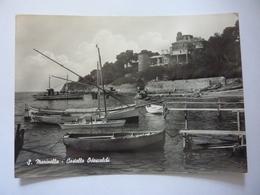 """Cartolina Viaggiata """"S. MARINELLA Castello Odescalchi""""  1964 - Italy"""