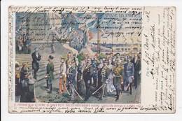 CPA 75 PARIS ILLUSTRATION GAREIS Le President De La Republique M Loubet Reçoit Tous Les Chefs D'états - Exhibitions