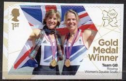 GREAT BRITAIN 2012 Olympic Games Gold Medal Winners: Women's Double Sculls - 1952-.... (Elizabeth II)