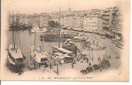 L200A357 - Marseille - Le  Vieux Port - Jolie Animation - LP N°35 - Carte Précurseur - Vieux Port, Saint Victor, Le Panier