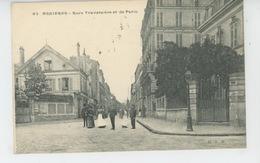 ASNIERES SUR SEINE - Rues Traversière Et De Paris - Asnieres Sur Seine