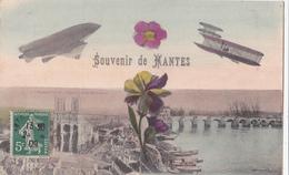 Mantes/78/ Souvenir/ Réf:fm:1027 - Mantes La Jolie