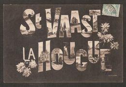 - St-VAAST-la-HOUGUE  ( 50 Manche )  Un Souvenir - Saint Vaast La Hougue