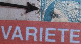 R1917/4 - ✉️ (LAC) - CERES N°37 - LERY (Eure) JUILLET 1871 > COULOMMIERS (S Et M) - VARIETE ➤➤➤ Filet Ouest Ondulé - 1870 Siege Of Paris