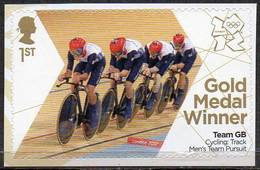 GREAT BRITAIN 2012 Olympic Games Gold Medal Winners: Men's Team Pursuit - Neufs