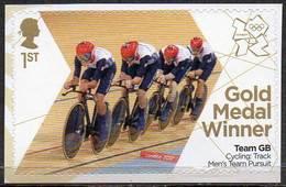 GREAT BRITAIN 2012 Olympic Games Gold Medal Winners: Men's Team Pursuit - 1952-.... (Elizabeth II)