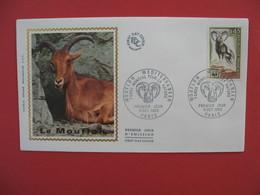 FDC 1969  Mouflon Méditerranéen Fonds Mondial Pour La Nature    Cachet  Paris    à Voir - FDC