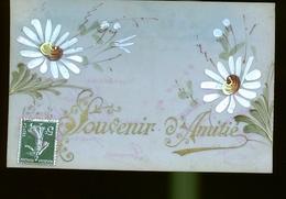 Val Heureux Famille Hugo  1908 CARTE CELLULOIDE - France