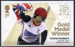 GREAT BRITAIN 2012 Olympic Games Gold Medal Winners: Victoria Pendleton - 1952-.... (Elizabeth II)