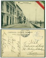 CARTOLINA - V8622 COLONIE ITALIANE TRIPOLITANIA 1912 Cartolina Illustrata In FRANCHIGIA (Tripoli La Via Dei Bastioni) - Libia