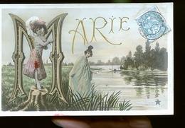 Femme Agnes Lettre A En Or - Mujeres