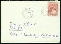 Br Vatican City Cover Sent To Denmark | Citta Del Vaticano 17.2.1973 - Vatican