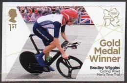 GREAT BRITAIN 2012 Olympic Games Gold Medal Winners: Bradley Wiggins - 1952-.... (Elizabeth II)