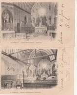 Lot De 5 CPA-Evreux-Eglise De St Sebastien De Morsent. - Evreux