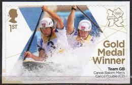 GREAT BRITAIN 2012 Olympic Games Gold Medal Winners: Men's Double Canoe Slalom - Neufs