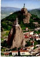 Le Puy Les Rochers St Michel Et Corneille Et La Sattue De Notre Dame De France - Le Puy En Velay