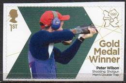 GREAT BRITAIN 2012 Olympic Games Gold Medal Winners: Peter Wilson - Neufs