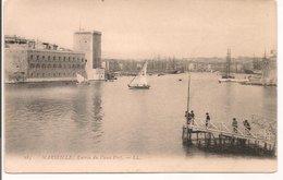 L200A361 - Marseille - Entrée Du Vieux Port - LL  N°185 - Carte Précurseur - Vieux Port, Saint Victor, Le Panier