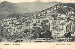 Dpts Div.-ref-AG132- Corse Du Sud - Sartène - Vue Generale - Edit. V. Poro - Carte Bon Etat - - Sartene