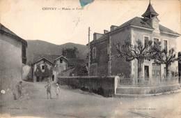 Chevry Mairie école Canton Gex - France