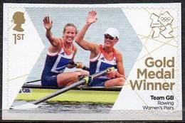GREAT BRITAIN 2012 Olympic Games Gold Medal Winners: Women's Rowing Pairs - Neufs