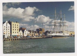 AK06 Shipping - Training Ship Lord Nelson At The Quay, Poole - Sailing Vessels