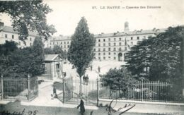 N°70269 -cpa Le Havre -Caserne Des Douanes- - Le Havre